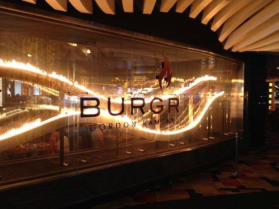 Gordon Ramsey's BurGR Restaurant LasVegas