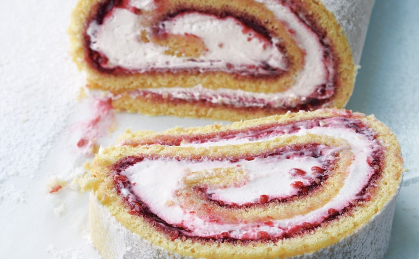 Strawberry's and Cream Jelly Roll
