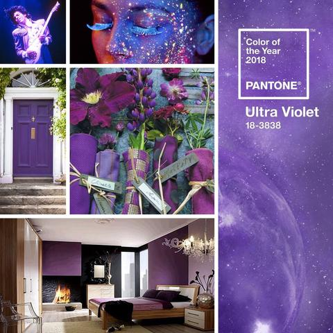 Introducing the 2018 Pantone Color of the Year! ~ Ultra Violet