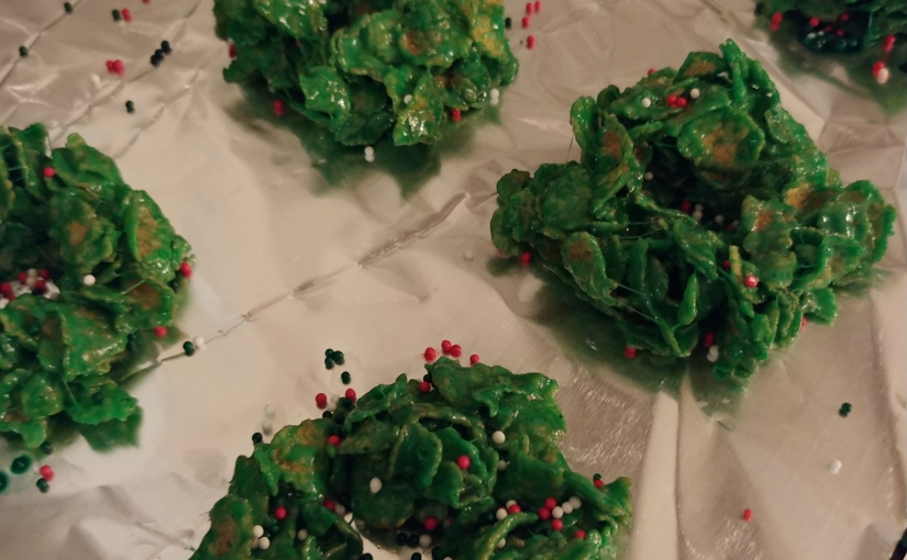 Cereal Treat Wreaths