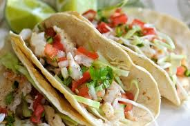 Light and Fresh Fish Taco